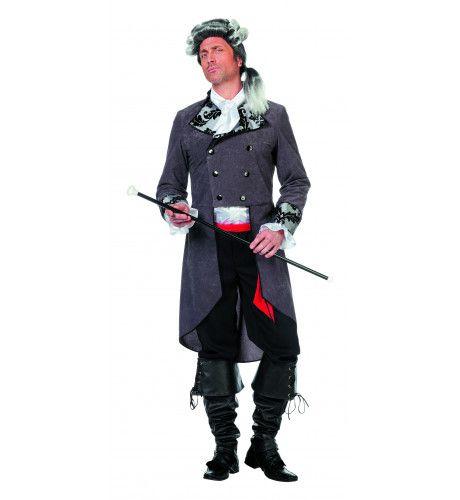 Royal Buckaneer Piraat Elegance Man Kostuum