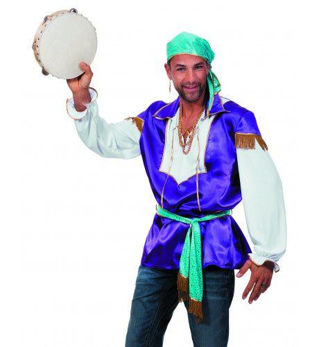 Gipsy King Man Kostuum
