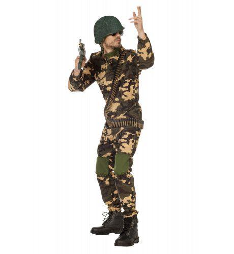 Commando Aanvalsoutfit Kostuum