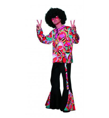 Disco Popart Mellow Man Kostuum