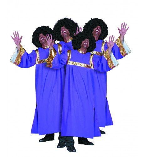 Amerikaanse Gospel Singer Man Kostuum