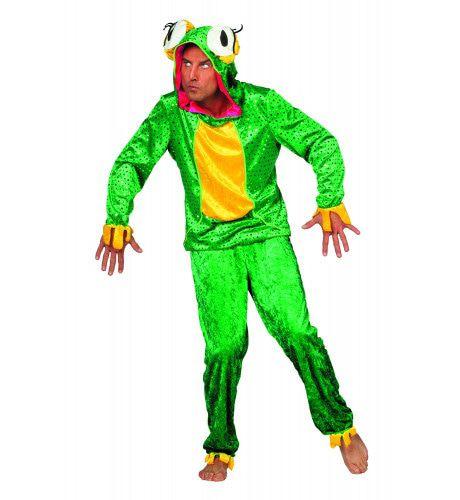 Hilarische En Schattige Kikker ( Met Broek) Man Kostuum