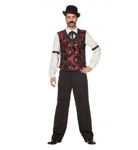 Mississipe Raderboot The Gambler Man Kostuum