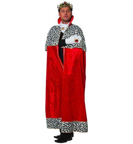 Willys Koningsmantel Pansamt Kostuum