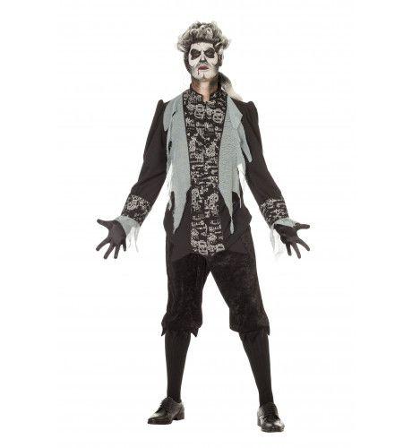 Horror Zombie Marquis Man Kostuum