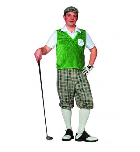 Kakkerige Golf Player Man Kostuum