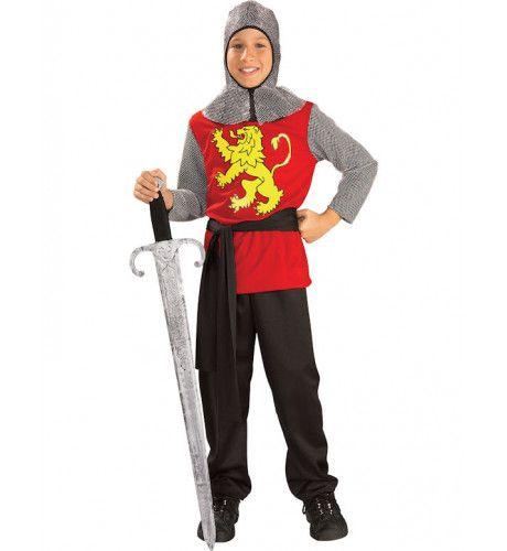 Middeleeuwse Edelman Jongen Kostuum