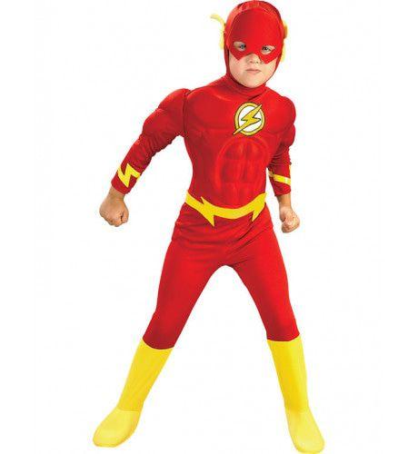Gespierde Flash Superheld Jongen Kostuum