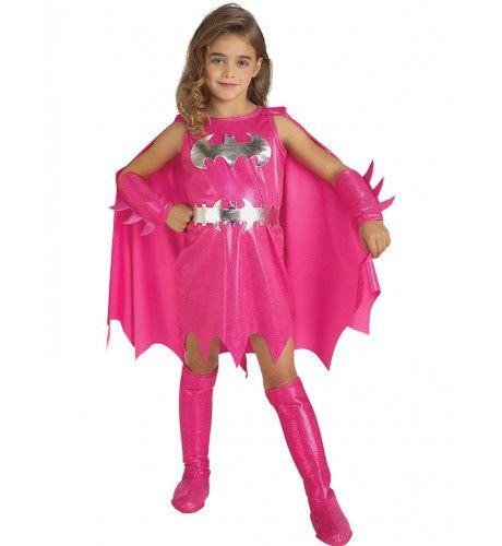 Roze Batgirl Superheld Meisje Kostuum