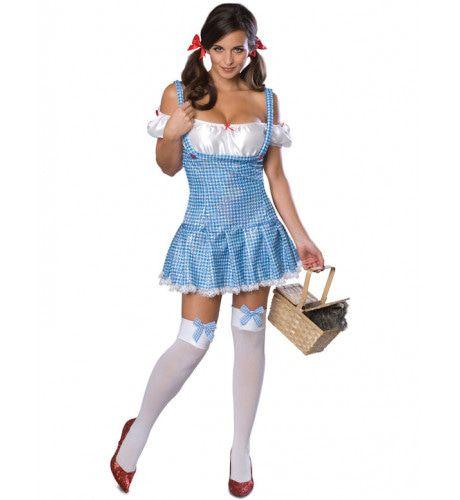 Secret Wishes Sexy Dorothy Vrouw Kostuum