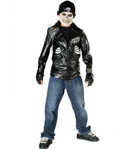 Halloween Death Rider Jongen Kostuum