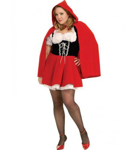 Roodkapje Fluweel Maatje Meer Vrouw Kostuum