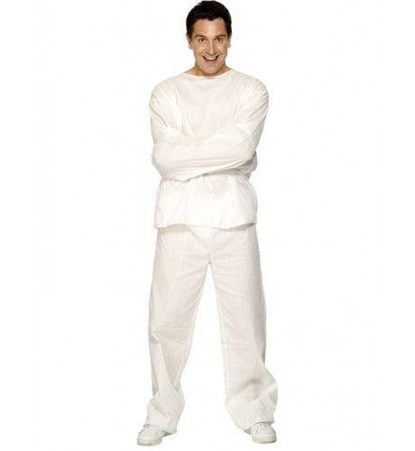 Psychiatrisch Patient Dwangbuis Kostuum Man