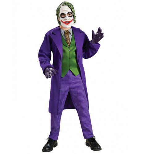 Luxe The Joker Jongen Kostuum