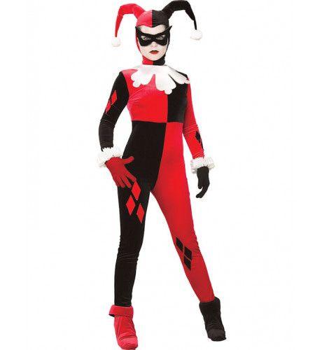 Gotham Harley Quinn Vrouw Kostuum