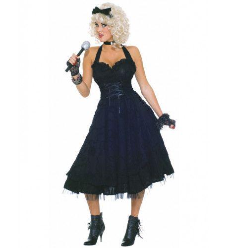 Material Girl Jaren 80 Vrouw Kostuum