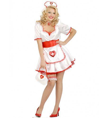 Sexy Verpleegster Maatje Meer Vrouw Kostuum