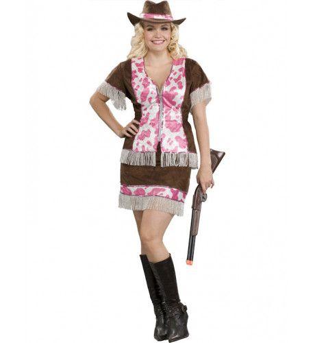 Brutale Cowgirl Maatje Meer Vrouw Kostuum