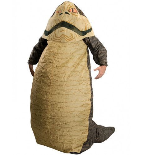 Jabba The Hutt Opblaasbaar Star Wars Kostuum Man