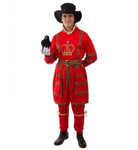 Beefeater Man Kostuum