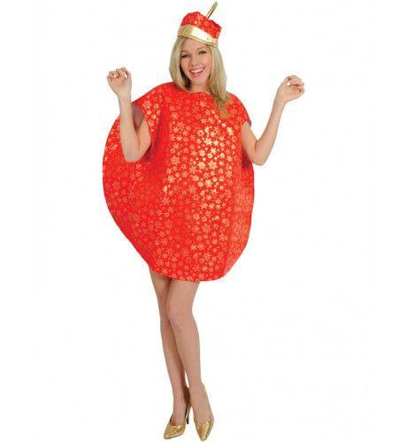 Kerstbal Vrouw Kostuum