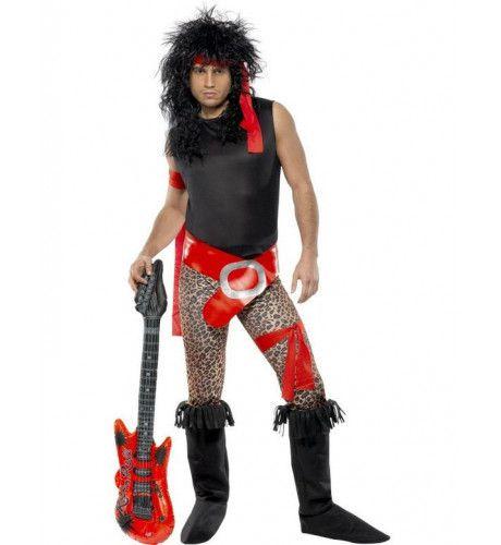 Glamour Rocker Kostuum Man