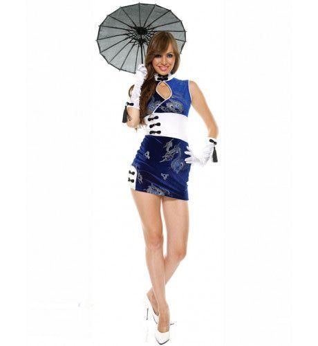 Sexy Chinees Vrouw Kostuum