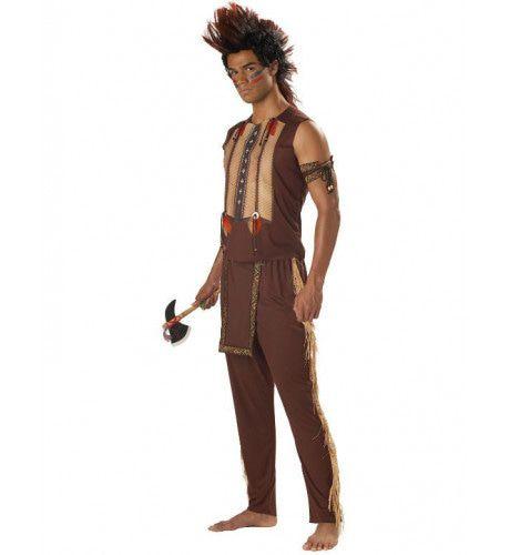 Indiaan Edele Wilde Man Kostuum