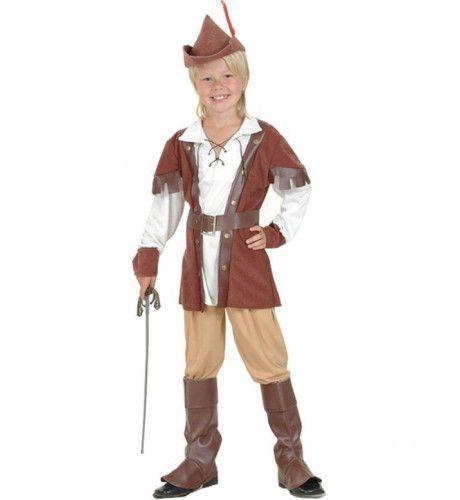 Robin Hood Of The Forest Jongen Kostuum