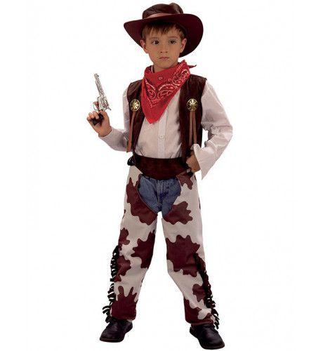 Cowboy Met Hoed Jongen Kostuum
