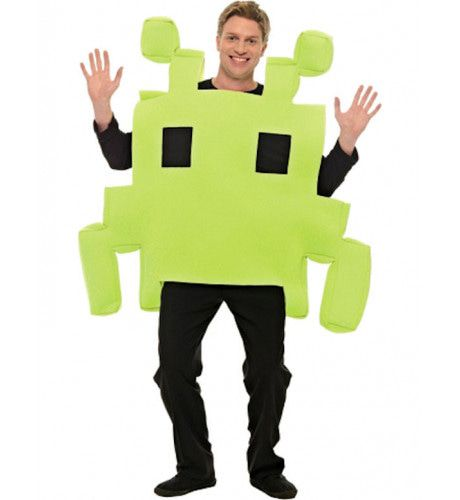 Space Invader Kostuum