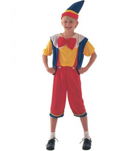 Pinokkio Jongen Kostuum