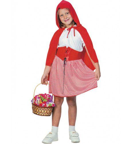 Roodkapje Op Weg Naar Oma Meisje Kostuum