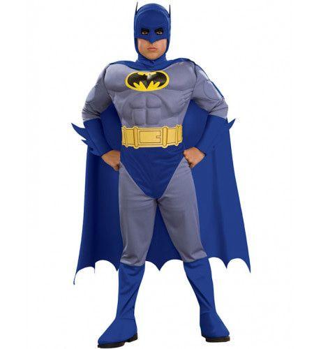 Gespierde Batman Moedig En Gedurfd Kostuum Jongen
