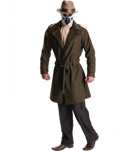 Rorschach Watchmen Superheld Man Kostuum
