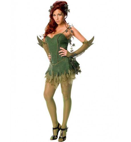 Sexy Poison Ivy Vrouw Kostuum