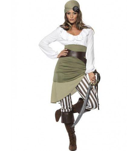 Scheepsmaat Schatje Piraat Vrouw Kostuum