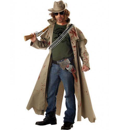 Zombiejager Halloween Man Kostuum