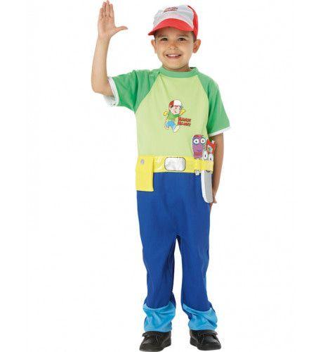 Handy Manny Jongen Kostuum