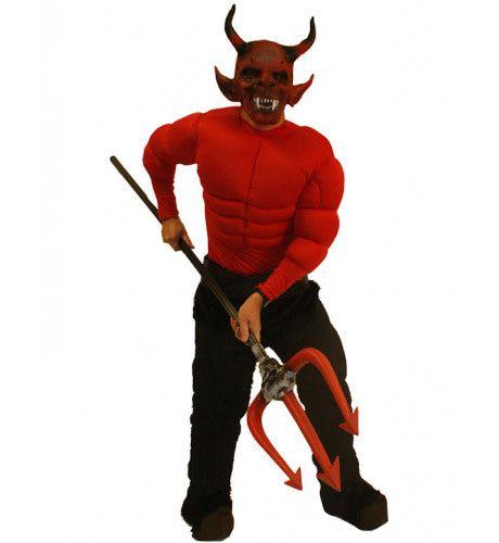 Duivel Halloween Man Kostuum