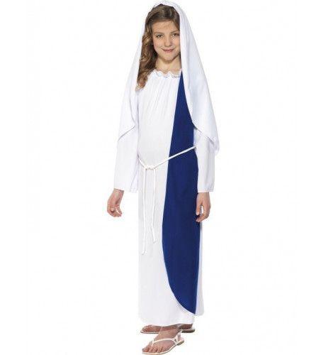 Kerst Maagd Maria Meisje Kostuum
