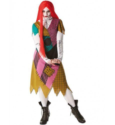 Sally Halloween Vrouw Kostuum