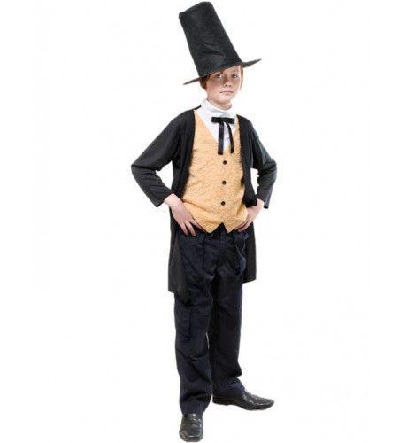 Victoriaanse Heer Jongen Kostuum