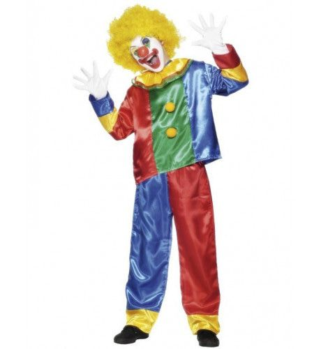 Traditionele Clown Kind Kostuum