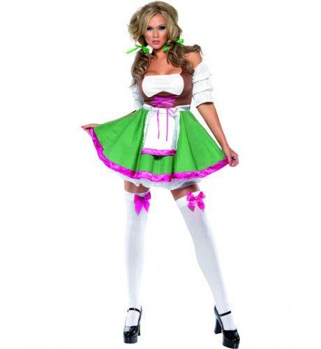 Fever Flirtende Fraulein Vrouw Kostuum