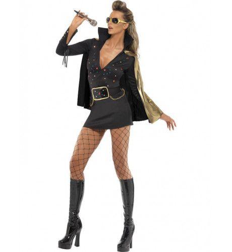 Viva Las Vegas Elvis Vrouw Kostuum
