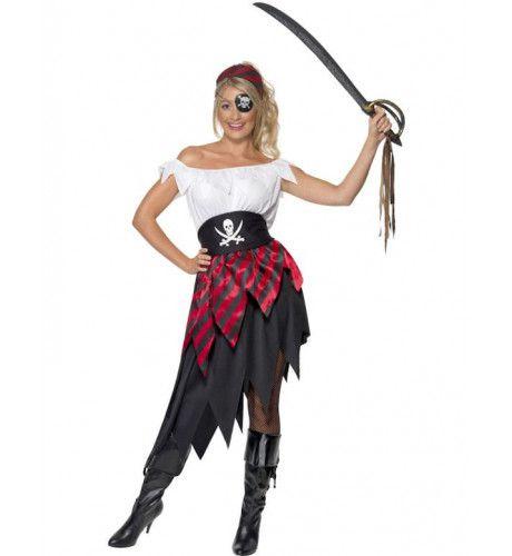 Piraten Liefje Vrouw Kostuum