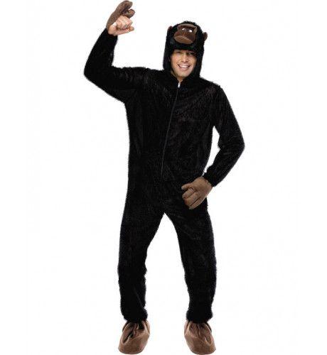 Voordelig Gorilla Kostuum (Volwassen)