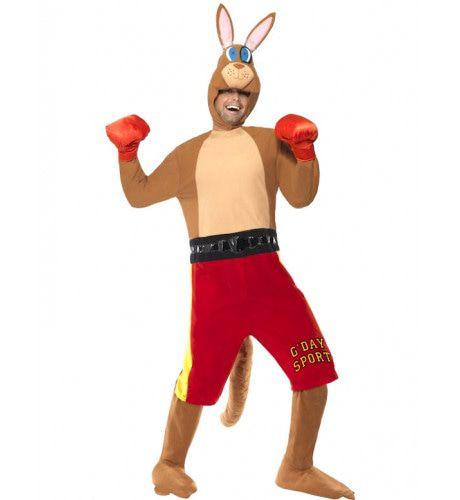 Kangoeroe Bokser Man Kostuum