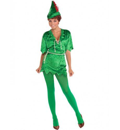 Peter Pan Vrouw Kostuum